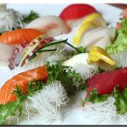 Sushi Sashimi Lunch Combo