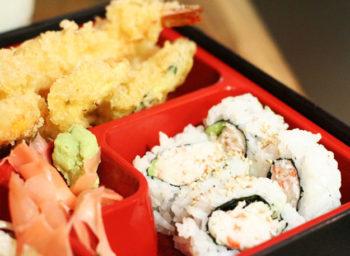 Tempura Lunch Bento Box