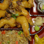 Walnut Shrimp Lunch Bento Box